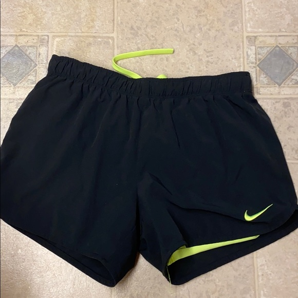 Nike Shorts   Black With Built In